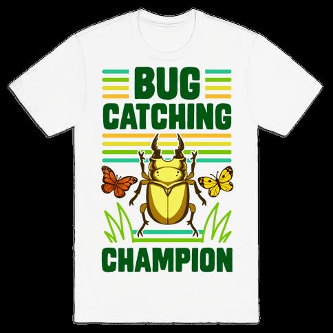 Bug Catching Champion Mens/Unisex T-Shirt