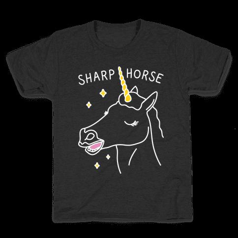 Sharp Horse Kids T-Shirt