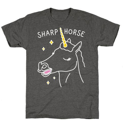 Sharp Horse T-Shirt