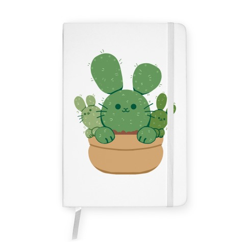 Bunny Ear Cactus Notebook