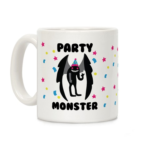 Party Monster : Mothman Coffee Mug