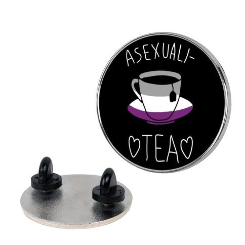 Asexuali-Tea pin