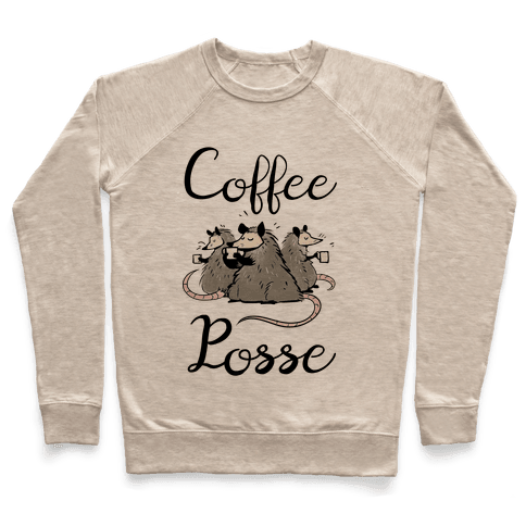 Coffee Posse Pullover