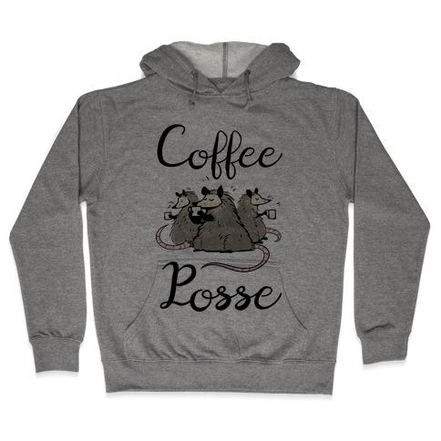 Coffee Posse Hooded Sweatshirt