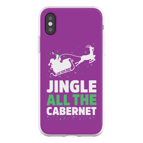 Jingle All the Cabernet Phone Flexi-Case
