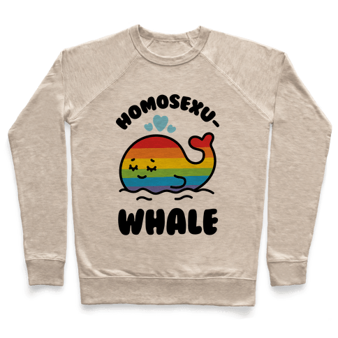 Homosexu-Whale Pullover