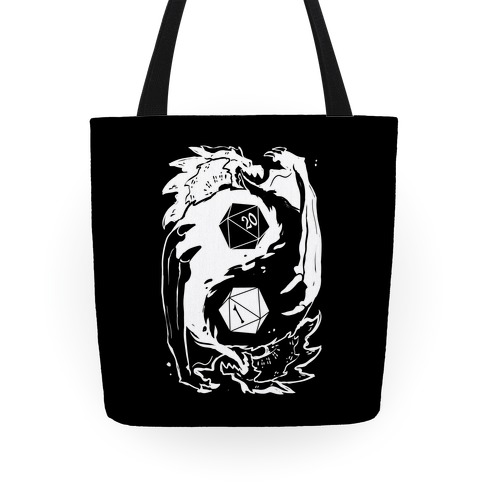 Dungeons and Dragons Yin Yang Tote