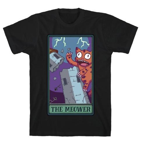 The Meower Tarot Card T-Shirt