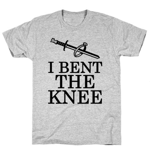 I Bent the Knee (Groom) Mens T-Shirt