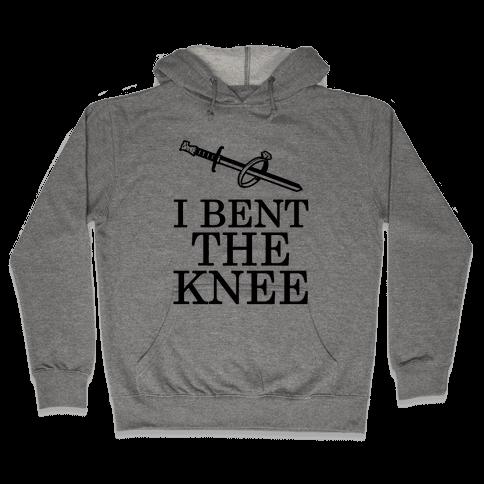 I Bent the Knee (Groom) Hooded Sweatshirt