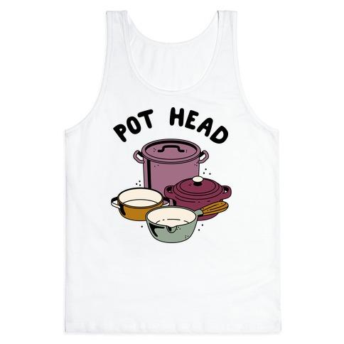 Pot Head Cooking Pots Tank Top