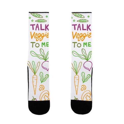 Talk Veggie To Me Sock