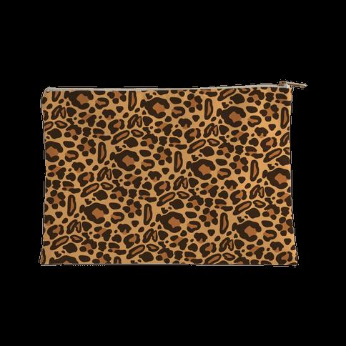 Leopard Print Pattern Accessory Bag
