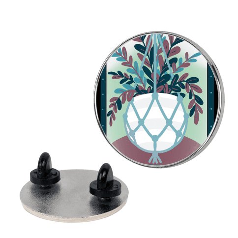 The Hanged Plant Pin