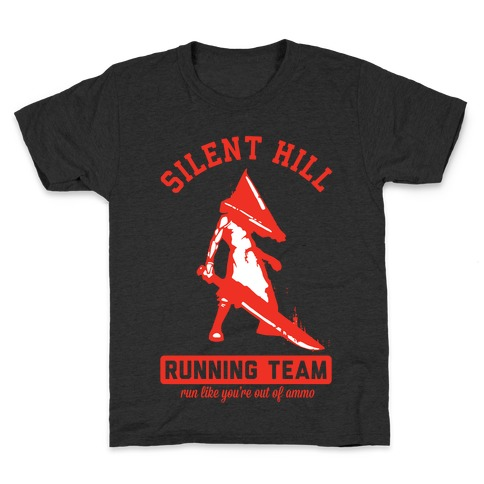 Silent Hill Running Team Kids T-Shirt