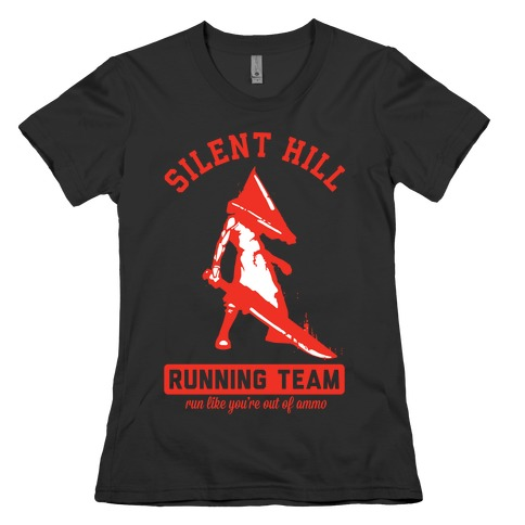 Silent Hill Running Team Womens T-Shirt