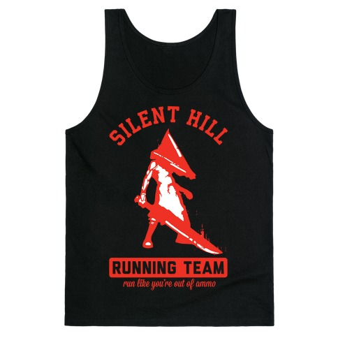 Silent Hill Running Team Tank Top