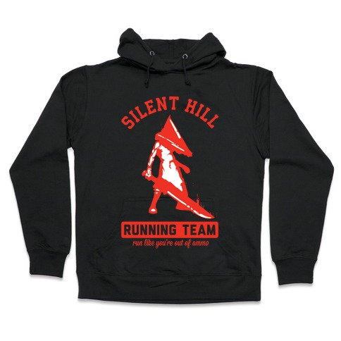 Silent Hill Running Team Hooded Sweatshirt