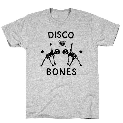 Disco Bones Mens/Unisex T-Shirt