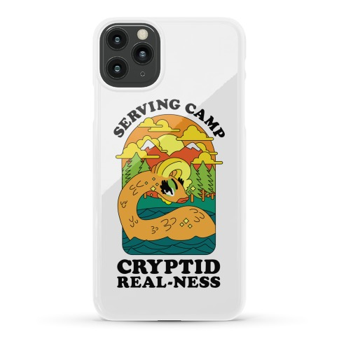 Serving Camp Cryptid Real-Ness Phone Case