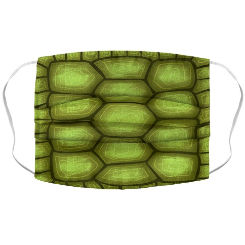 Turtle Shell Face Mask Cover