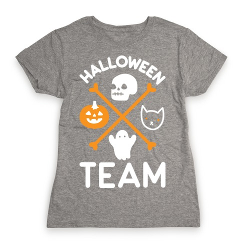 Halloween Team Womens T-Shirt