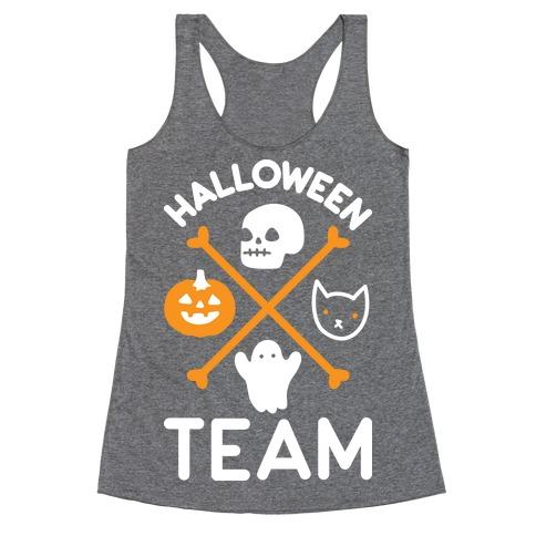 Halloween Team Racerback Tank Top