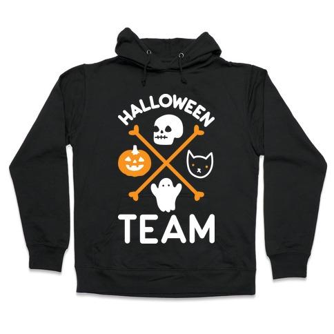 Halloween Team Hooded Sweatshirt