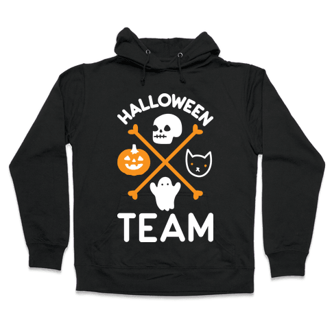 Halloween Team Hooded Sweatshirt