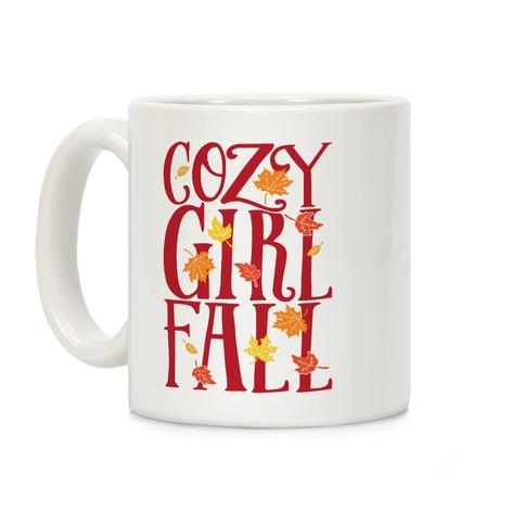 Cozy Girl Fall Coffee Mug