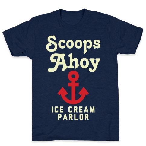 Scoops Ahoy Logo Parody T-Shirt
