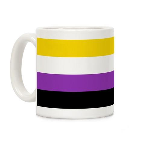 Non Binary Pride Flag Coffee Mug