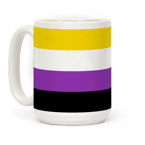 Non Binary Pride Flag Coffee Mug