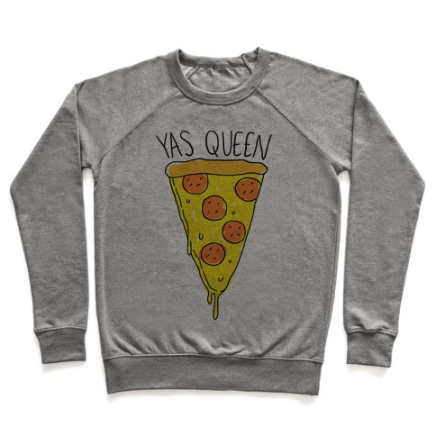 Yas Queen Pizza Pullover