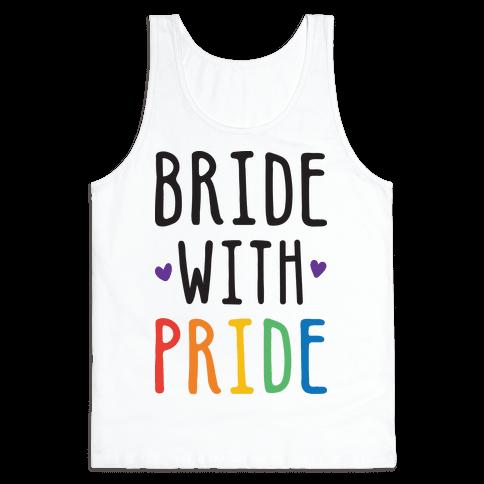 Bride With Pride Tank Top