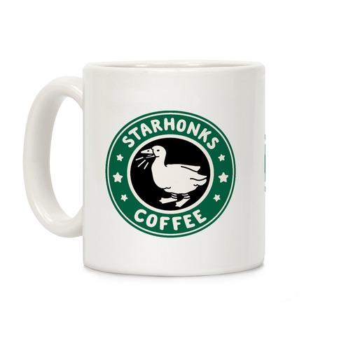 Starhonks Coffee Parody Coffee Mug