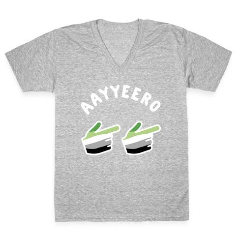 Aayyeero V-Neck Tee Shirt