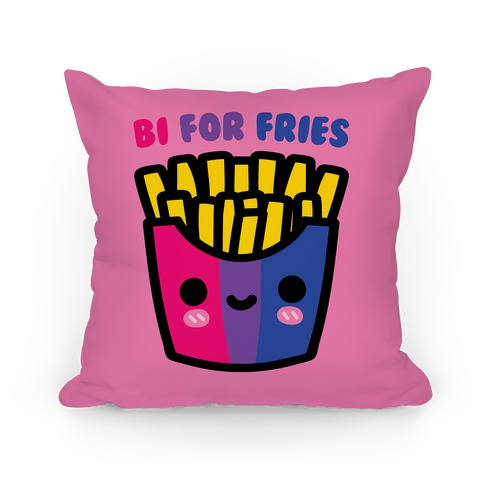 Bi For Fries Pillow