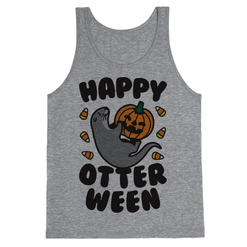 Happy Otterween Tank Top