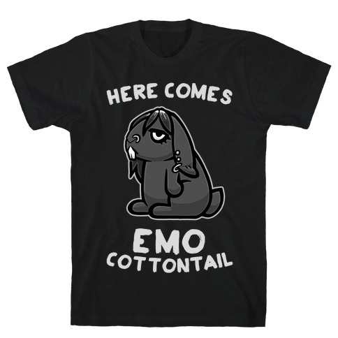 Here Comes Emo Cottontail T-Shirt