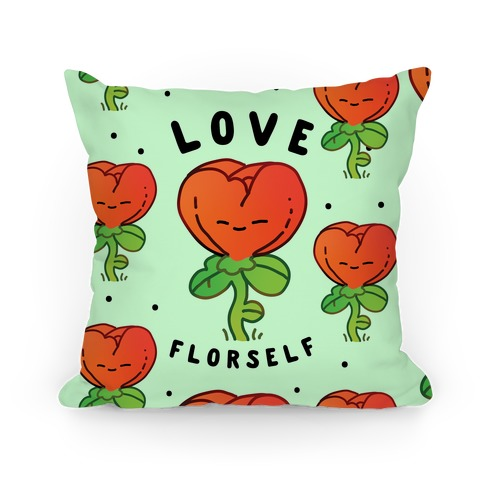 Love Florself Pillow