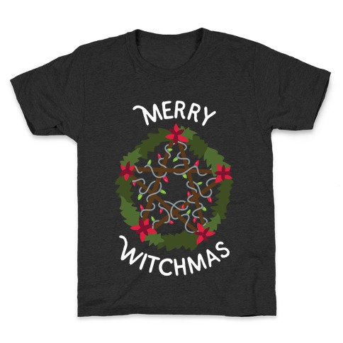 Merry Witchmas Kids T-Shirt