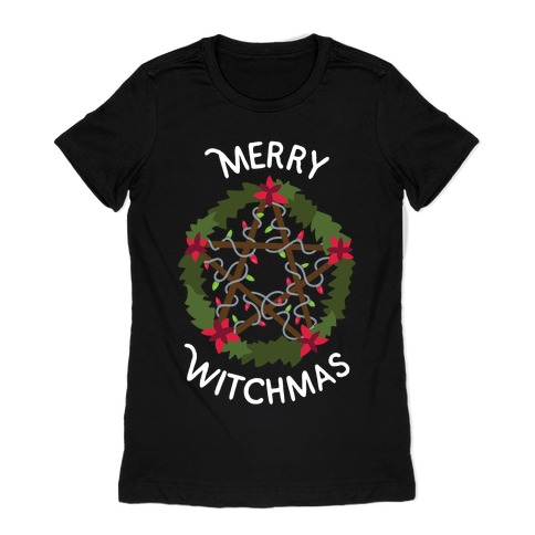 Merry Witchmas Womens T-Shirt