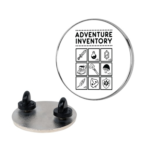 Adventure Inventory Pin