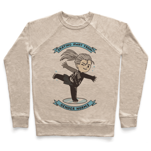 Skating Away From Gender Norms Pullover