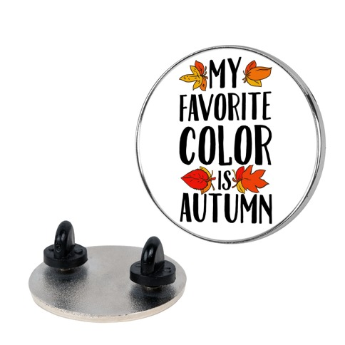 My Favorite Color is Autumn pin