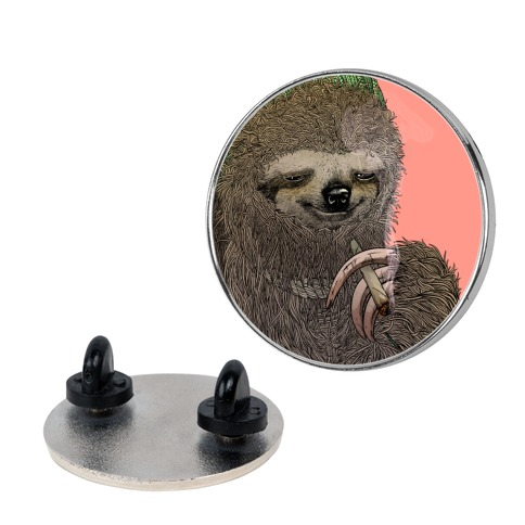 Dank Sloth Pin