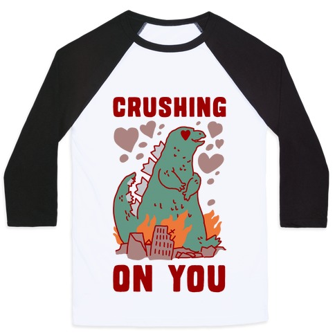 Crushing On You Baseball Tee