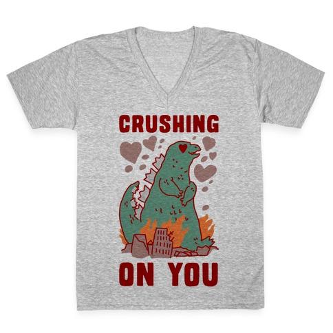 Crushing On You V-Neck Tee Shirt