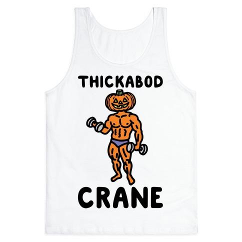 Thickabod Crane Parody Tank Top